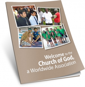 Welcome to the Church of God, a Worldwide Association booklet cover